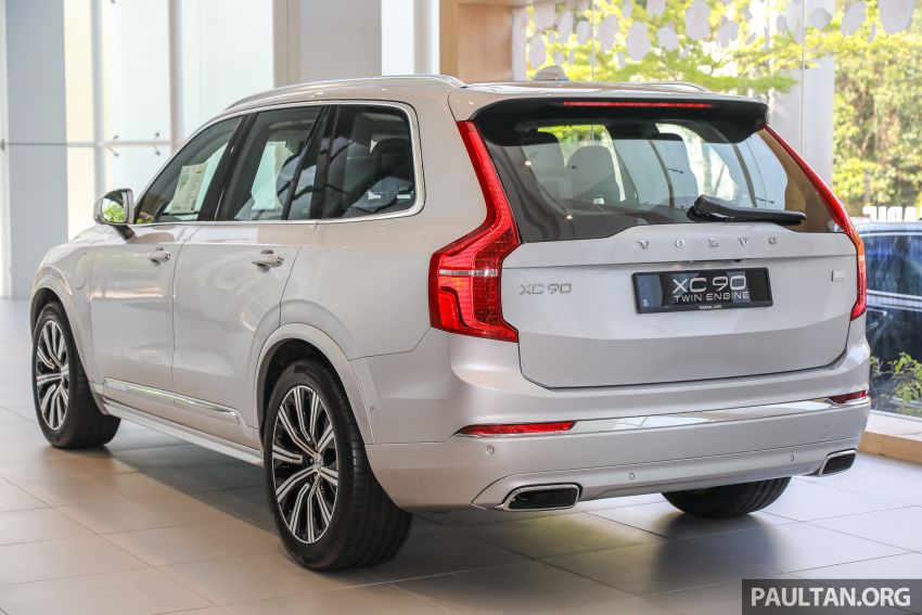 2021 Volvo XC90 – new Recharge T8 badging for PHEV, wireless charger, USB-C ports; no more Inscription Image #1255918