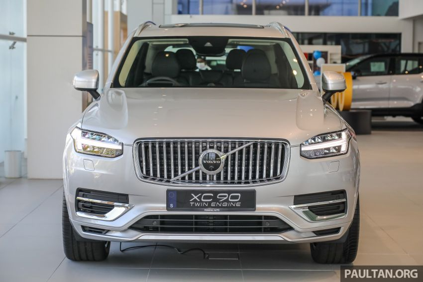 2021 Volvo XC90 – new Recharge T8 badging for PHEV, wireless charger, USB-C ports; no more Inscription Image #1255920