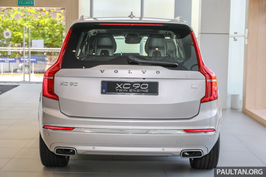2021 Volvo XC90 – new Recharge T8 badging for PHEV, wireless charger, USB-C ports; no more Inscription Image #1255921