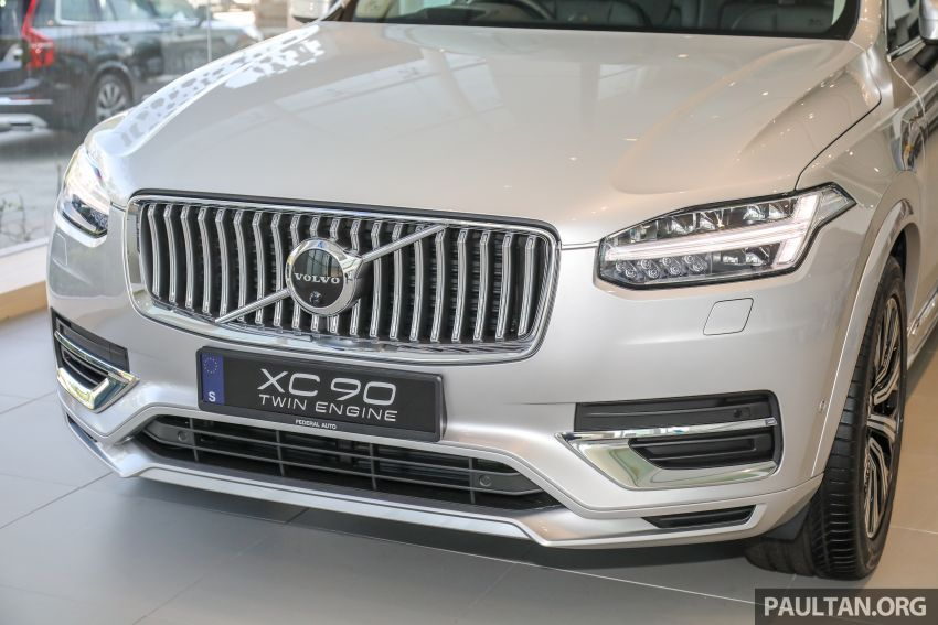 2021 Volvo XC90 – new Recharge T8 badging for PHEV, wireless charger, USB-C ports; no more Inscription Image #1255922