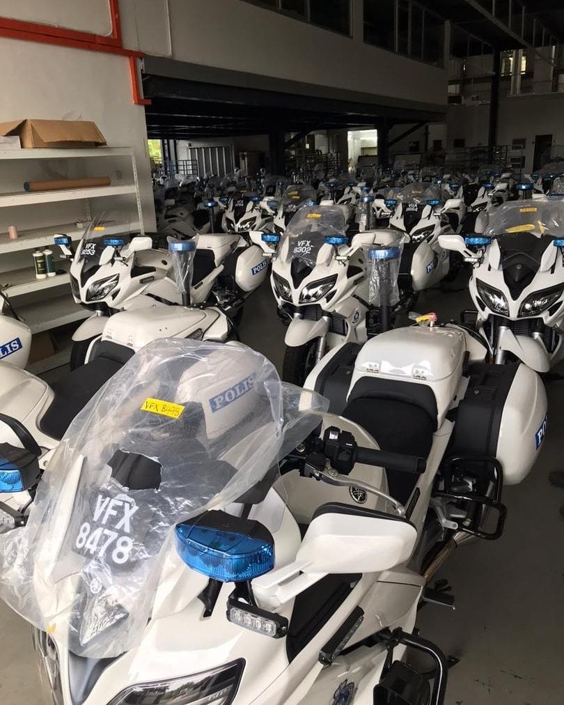 Malaysian police get Yamaha FJR1300P patrol bikes Image #1269306