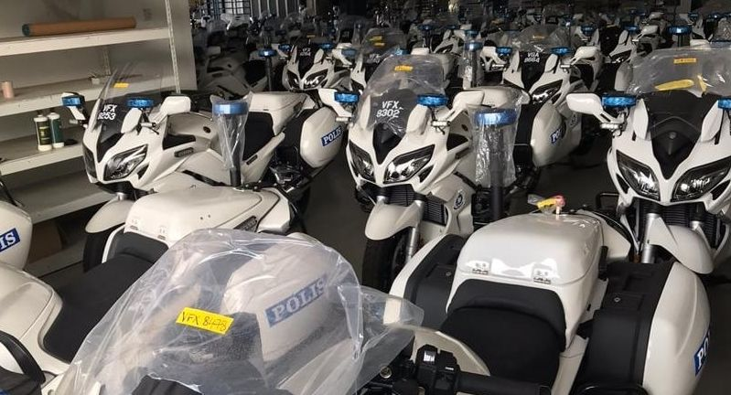 Malaysian police get Yamaha FJR1300P patrol bikes Image #1269305