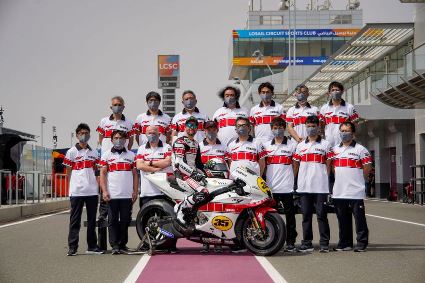 Yamaha YZR-M1 celebrates Yamaha Motor Co's 60th year in Motorcycle Grand Prix with special livery Image #1262081
