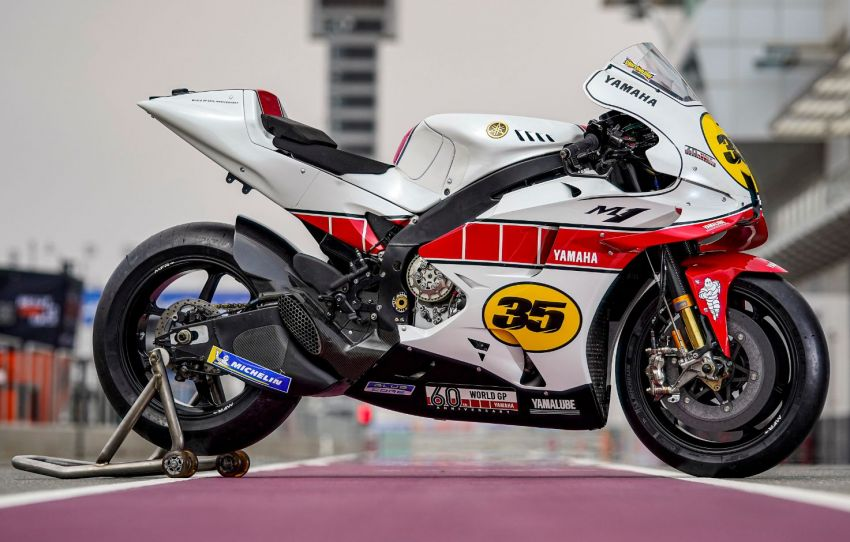 Yamaha YZR-M1 celebrates Yamaha Motor Co's 60th year in Motorcycle Grand Prix with special livery Image #1262082