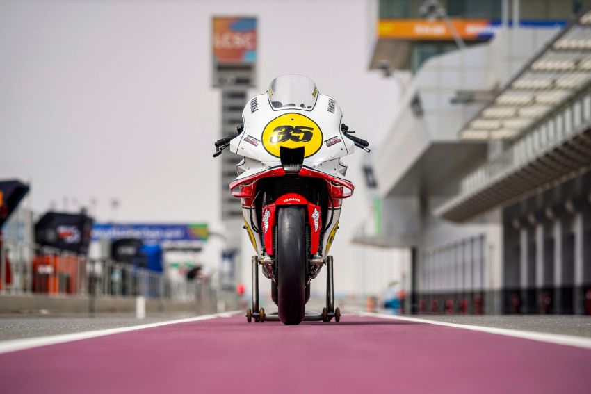Yamaha YZR-M1 celebrates Yamaha Motor Co's 60th year in Motorcycle Grand Prix with special livery Image #1262069
