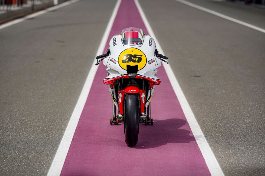 Yamaha YZR-M1 celebrates Yamaha Motor Co's 60th year in Motorcycle Grand Prix with special livery Image #1262070