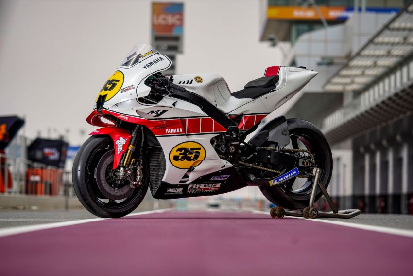 Yamaha YZR-M1 celebrates Yamaha Motor Co's 60th year in Motorcycle Grand Prix with special livery Image #1262071