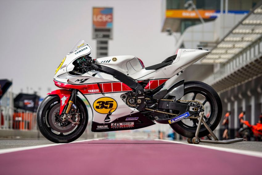 Yamaha YZR-M1 celebrates Yamaha Motor Co's 60th year in Motorcycle Grand Prix with special livery Image #1262072
