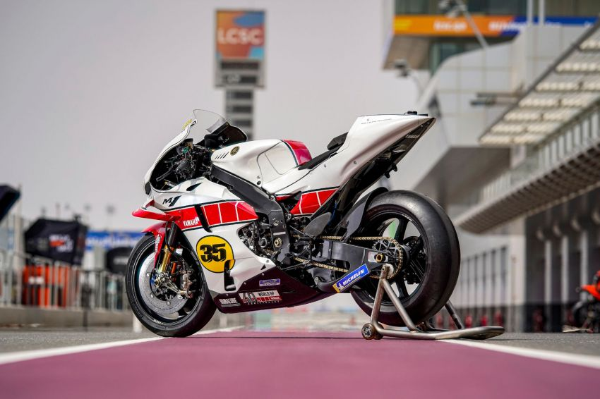 Yamaha YZR-M1 celebrates Yamaha Motor Co's 60th year in Motorcycle Grand Prix with special livery Image #1262073