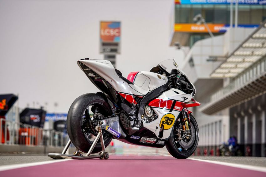 Yamaha YZR-M1 celebrates Yamaha Motor Co's 60th year in Motorcycle Grand Prix with special livery Image #1262074