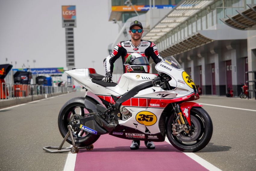 Yamaha YZR-M1 celebrates Yamaha Motor Co's 60th year in Motorcycle Grand Prix with special livery Image #1262075