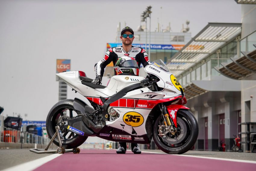 Yamaha YZR-M1 celebrates Yamaha Motor Co's 60th year in Motorcycle Grand Prix with special livery Image #1262076