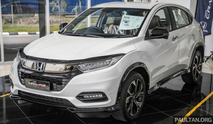 2021 Honda HR-V RS with new 7-inch display, RM119k Image #1264015
