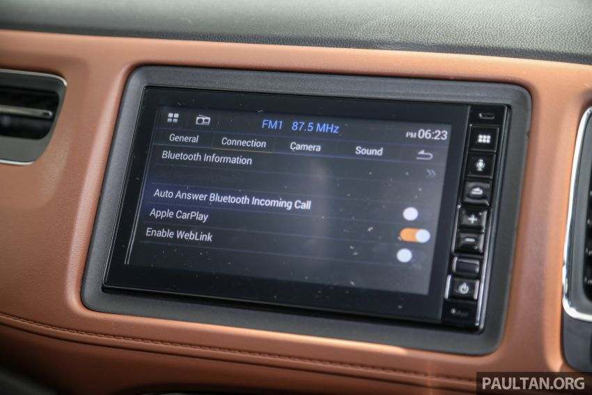 2021 Honda HR-V RS with new 7-inch display, RM119k Image #1264030