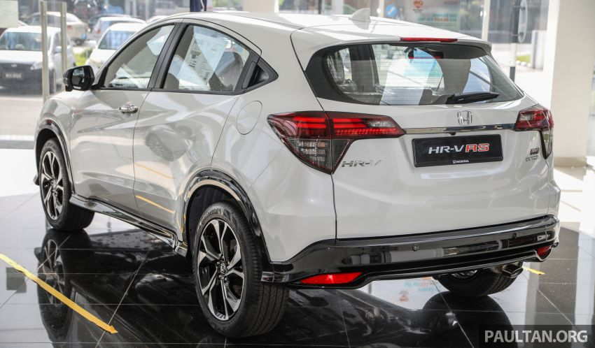 2021 Honda HR-V RS with new 7-inch display, RM119k Image #1264016