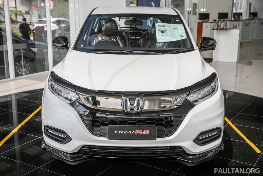 2021 Honda HR-V RS with new 7-inch display, RM119k Image #1264017