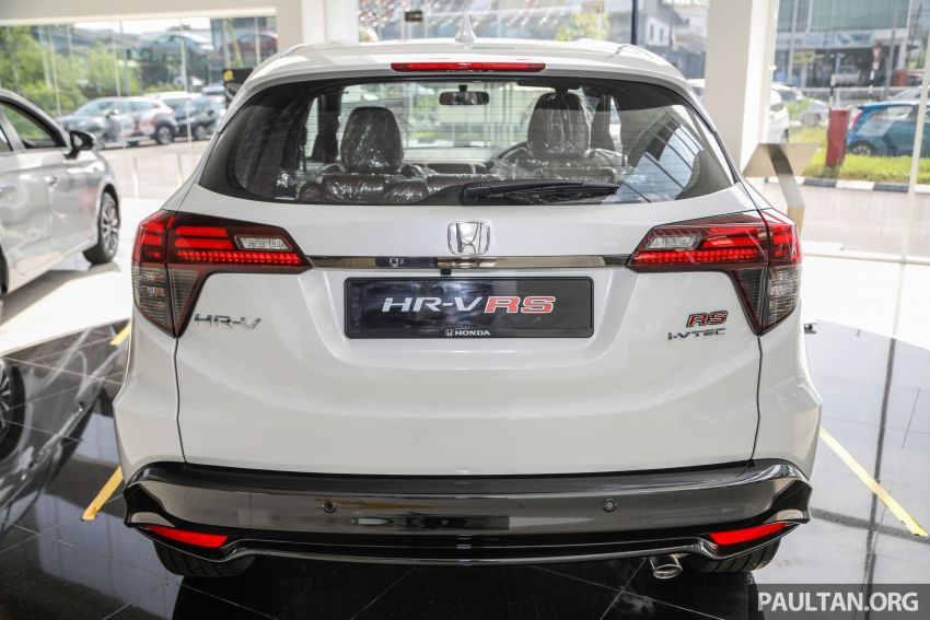 2021 Honda HR-V RS with new 7-inch display, RM119k Image #1264019