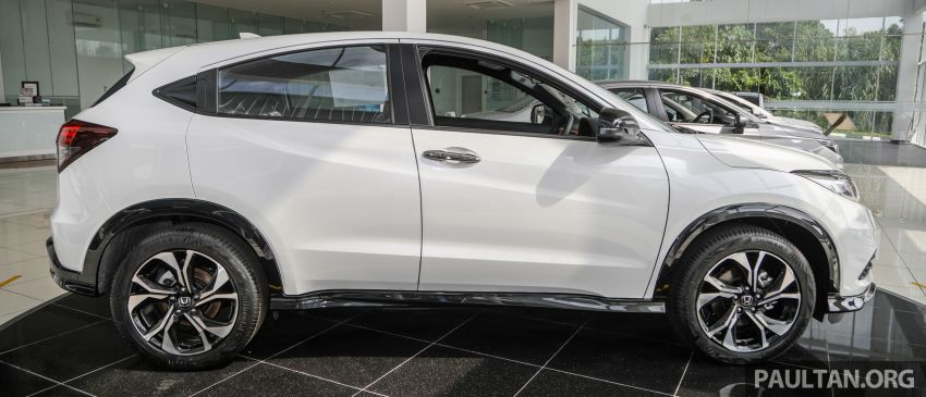 2021 Honda HR-V RS with new 7-inch display, RM119k Image #1264021