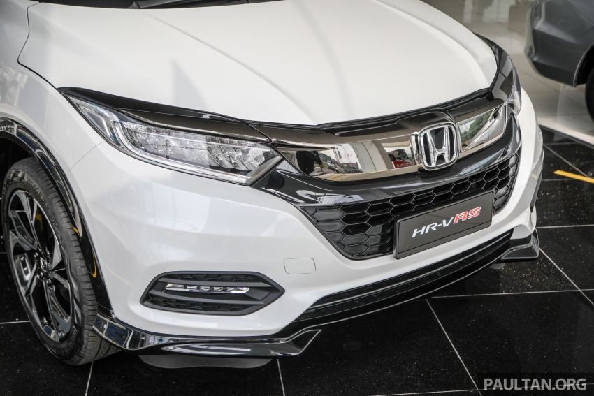 2021 Honda HR-V RS with new 7-inch display, RM119k Image #1264022