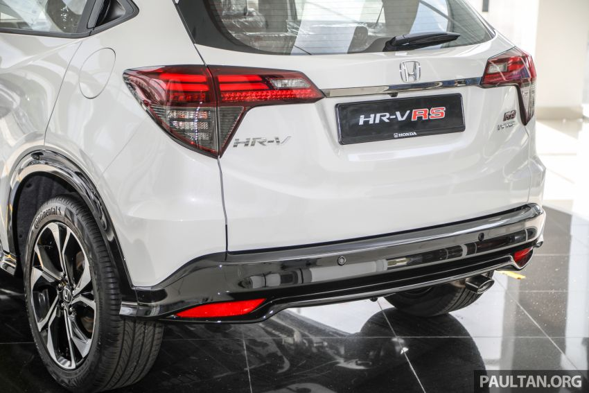 2021 Honda HR-V RS with new 7-inch display, RM119k Image #1264023