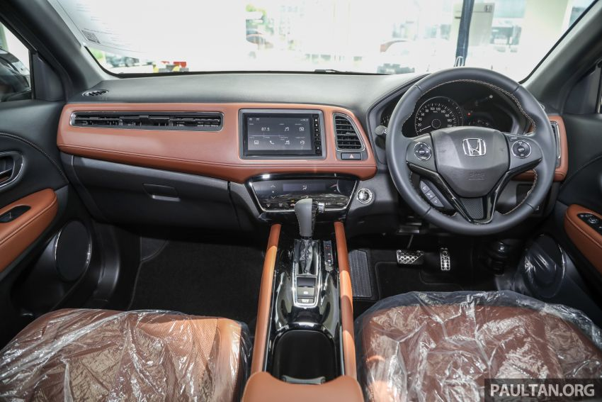 2021 Honda HR-V RS with new 7-inch display, RM119k Image #1264025
