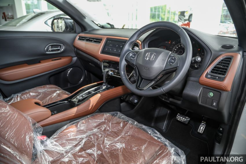 2021 Honda HR-V RS with new 7-inch display, RM119k Image #1264026