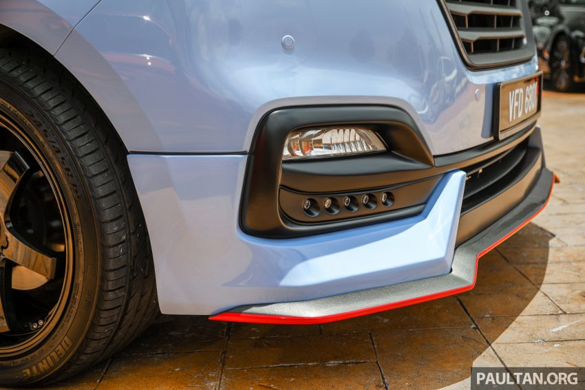 HSDM introduces Hyundai Sonata SE, Starex Exec Plus SE – bodykit, paintjob, 19-inch rims, same price Image #1266892
