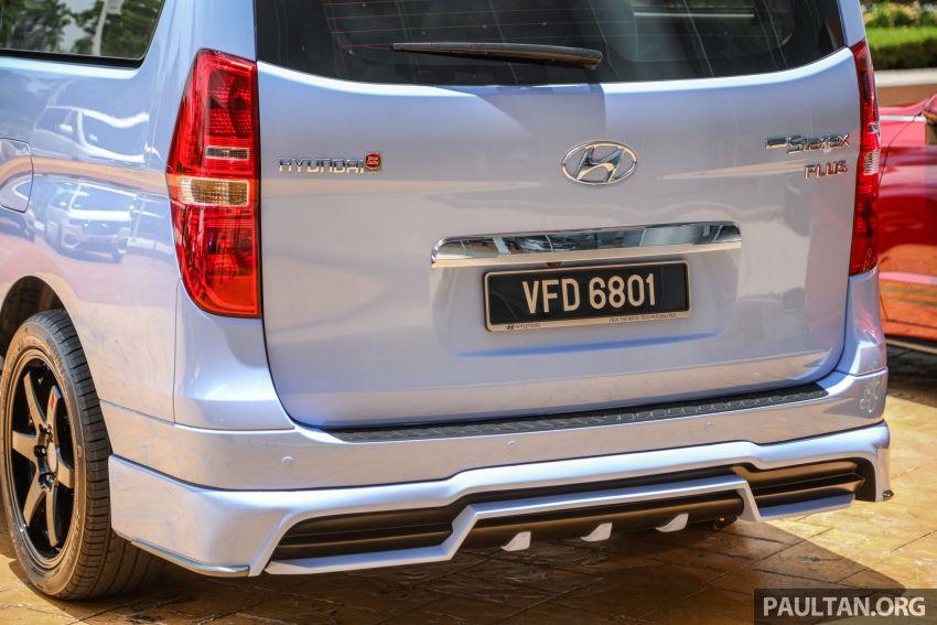 HSDM introduces Hyundai Sonata SE, Starex Exec Plus SE – bodykit, paintjob, 19-inch rims, same price Image #1266898