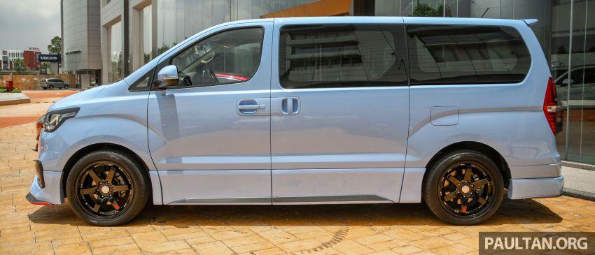 HSDM introduces Hyundai Sonata SE, Starex Exec Plus SE – bodykit, paintjob, 19-inch rims, same price Image #1266885