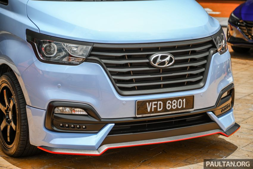 HSDM introduces Hyundai Sonata SE, Starex Exec Plus SE – bodykit, paintjob, 19-inch rims, same price Image #1266886