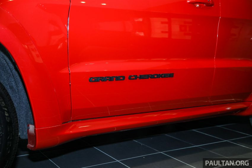 Jeep Grand Cherokee SRT dilancar di M'sia – 6.4L Hemi V8, 475 hp/644 Nm, RM719k dengan SST 50% Image #1263460