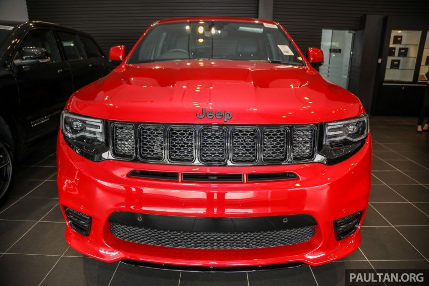 Jeep Grand Cherokee SRT dilancar di M'sia – 6.4L Hemi V8, 475 hp/644 Nm, RM719k dengan SST 50% Image #1263448