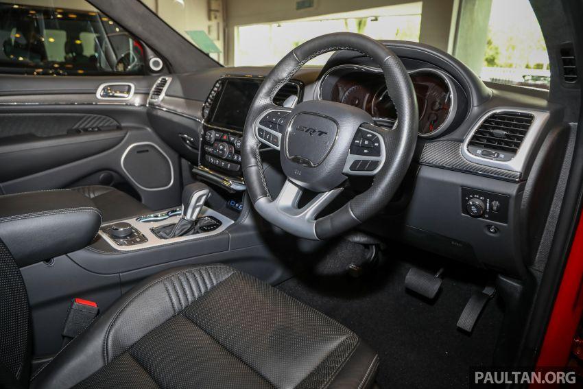 Jeep Grand Cherokee SRT dilancar di M'sia – 6.4L Hemi V8, 475 hp/644 Nm, RM719k dengan SST 50% Image #1263476