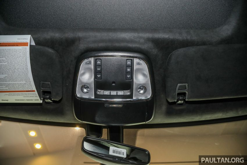 Jeep Grand Cherokee SRT dilancar di M'sia – 6.4L Hemi V8, 475 hp/644 Nm, RM719k dengan SST 50% Image #1263491