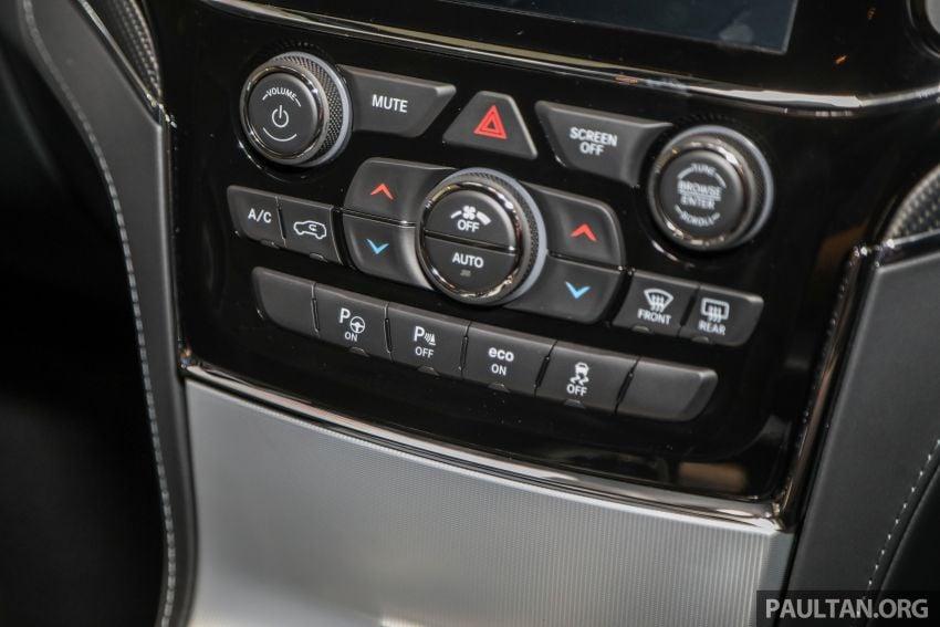 Jeep Grand Cherokee SRT dilancar di M'sia – 6.4L Hemi V8, 475 hp/644 Nm, RM719k dengan SST 50% Image #1263482