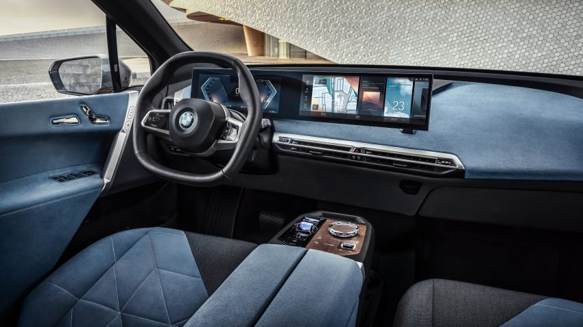 BMW iX electric SUV detailed – 320 PS xDrive40 with 400 km range, 500 PS xDrive50 with 600 km range Image #1264449