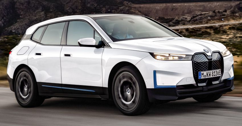 BMW iX electric SUV detailed – 320 PS xDrive40 with 400 km range, 500 PS xDrive50 with 600 km range Image #1264455
