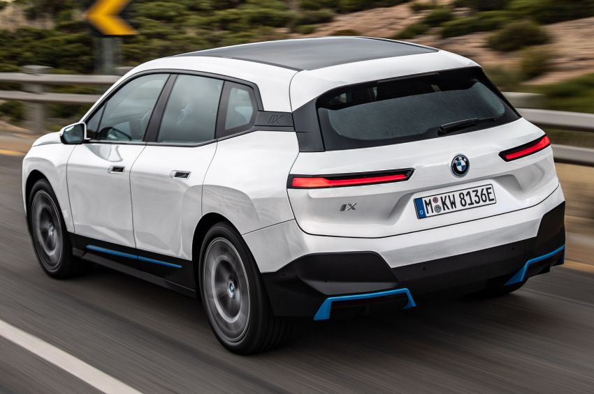BMW iX electric SUV detailed – 320 PS xDrive40 with 400 km range, 500 PS xDrive50 with 600 km range Image #1264456