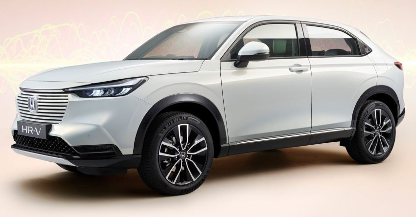 2022 Honda HR-V design details – new coupé-like styling, increased interior space, better visibility Image #1269042