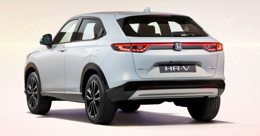2022 Honda HR-V design details – new coupé-like styling, increased interior space, better visibility Image #1269044