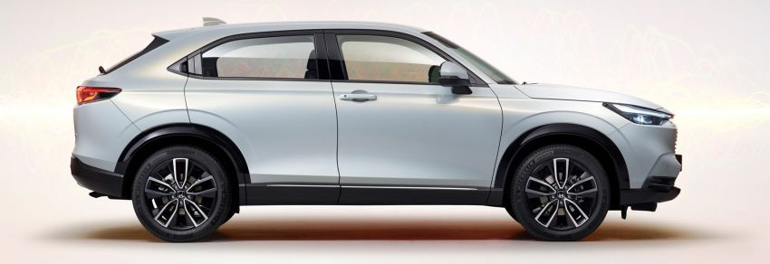 2022 Honda HR-V design details – new coupé-like styling, increased interior space, better visibility Image #1269045