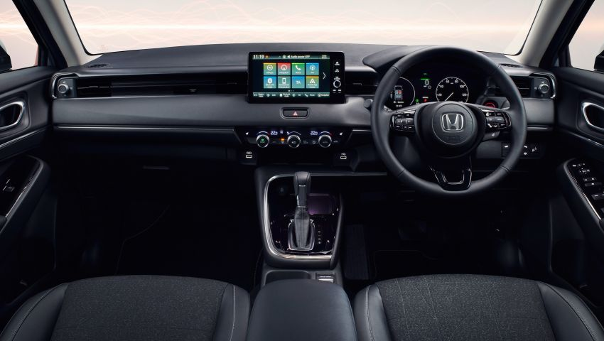 2022 Honda HR-V design details – new coupé-like styling, increased interior space, better visibility Image #1269046