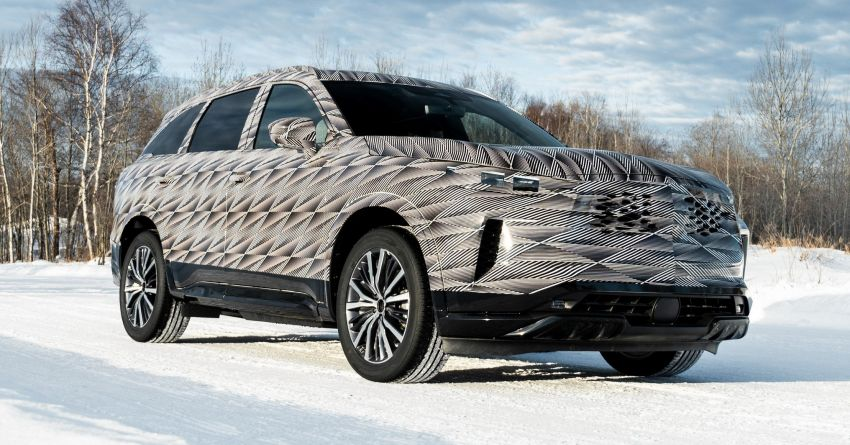2022 Infiniti QX60 early details revealed – 3.5L V6, nine-speed auto, AWD; market launch later this year Image #1262196