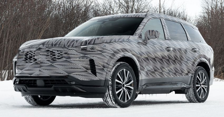 2022 Infiniti QX60 early details revealed – 3.5L V6, nine-speed auto, AWD; market launch later this year Image #1262198