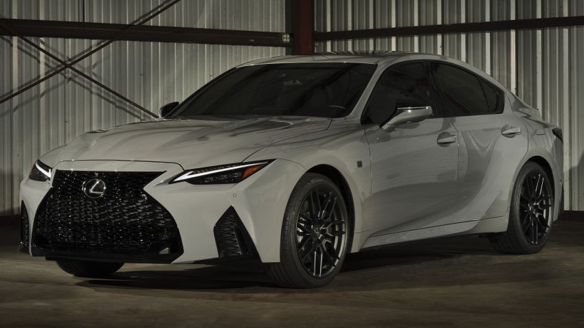 2022 Lexus IS 500 F Sport Performance Launch Edition gets exclusive grey paint, BBS wheels – 500 units only Image #1266594
