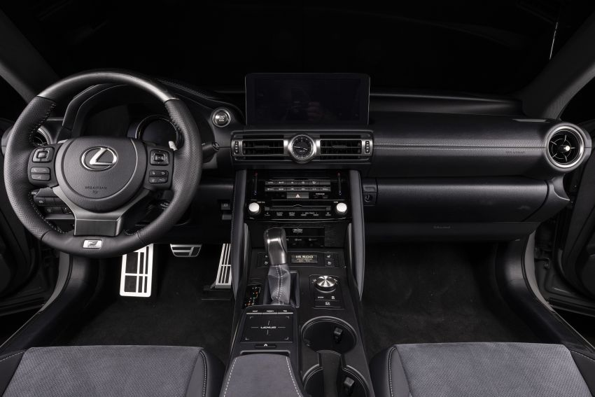 2022 Lexus IS 500 F Sport Performance Launch Edition gets exclusive grey paint, BBS wheels – 500 units only Image #1266608