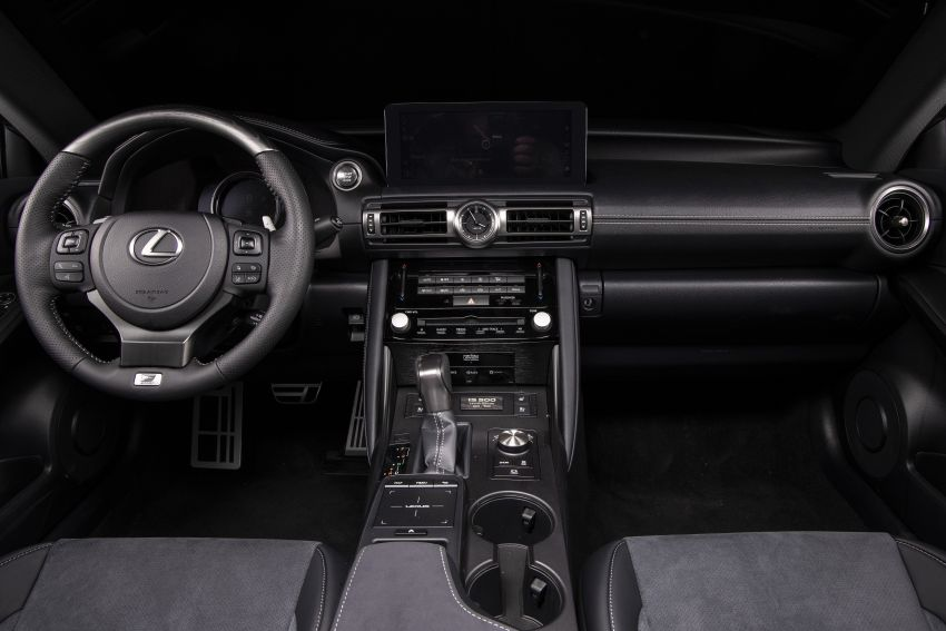 2022 Lexus IS 500 F Sport Performance Launch Edition gets exclusive grey paint, BBS wheels – 500 units only Image #1266609