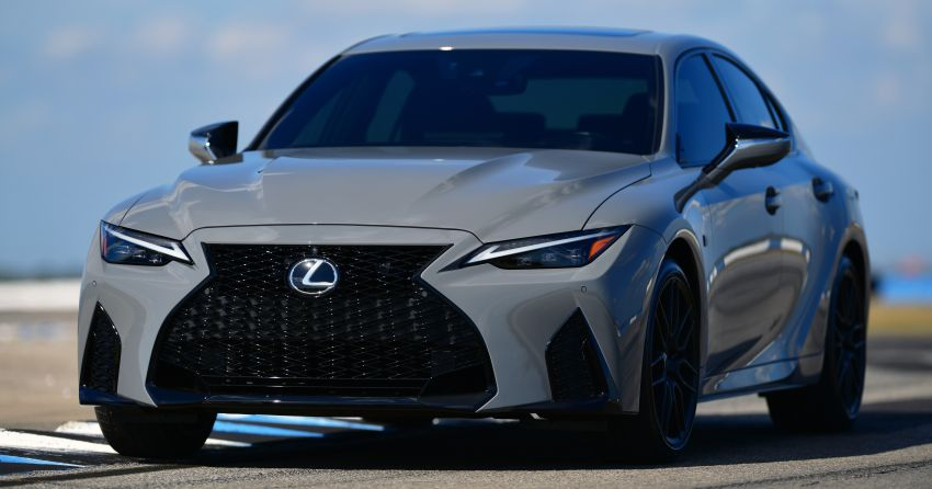 2022 Lexus IS 500 F Sport Performance Launch Edition gets exclusive grey paint, BBS wheels – 500 units only Image #1266622