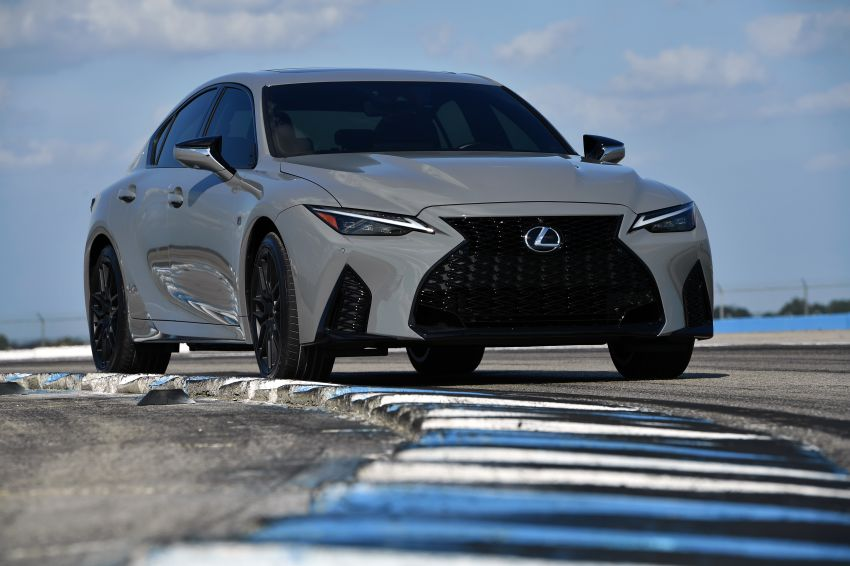 2022 Lexus IS 500 F Sport Performance Launch Edition gets exclusive grey paint, BBS wheels – 500 units only Image #1266623