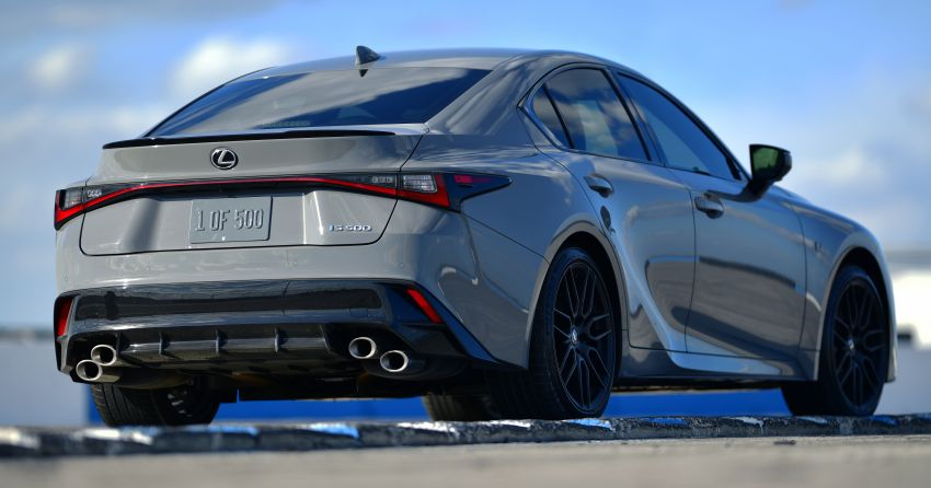 2022 Lexus IS 500 F Sport Performance Launch Edition gets exclusive grey paint, BBS wheels – 500 units only Image #1266624